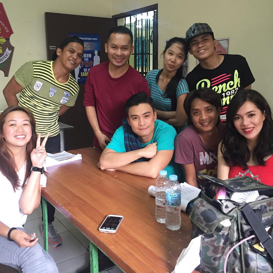 LOOK: On the set of Doble Kara