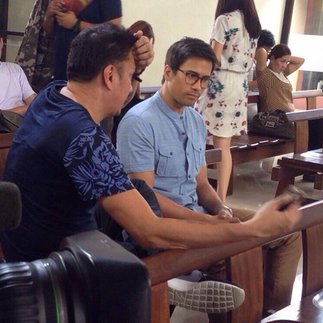 BEHIND-THE-SCENES: Sam Milby's first taping day