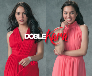 GLAM SHOTS: Julia Montes portrays twin characters Sara and Kara